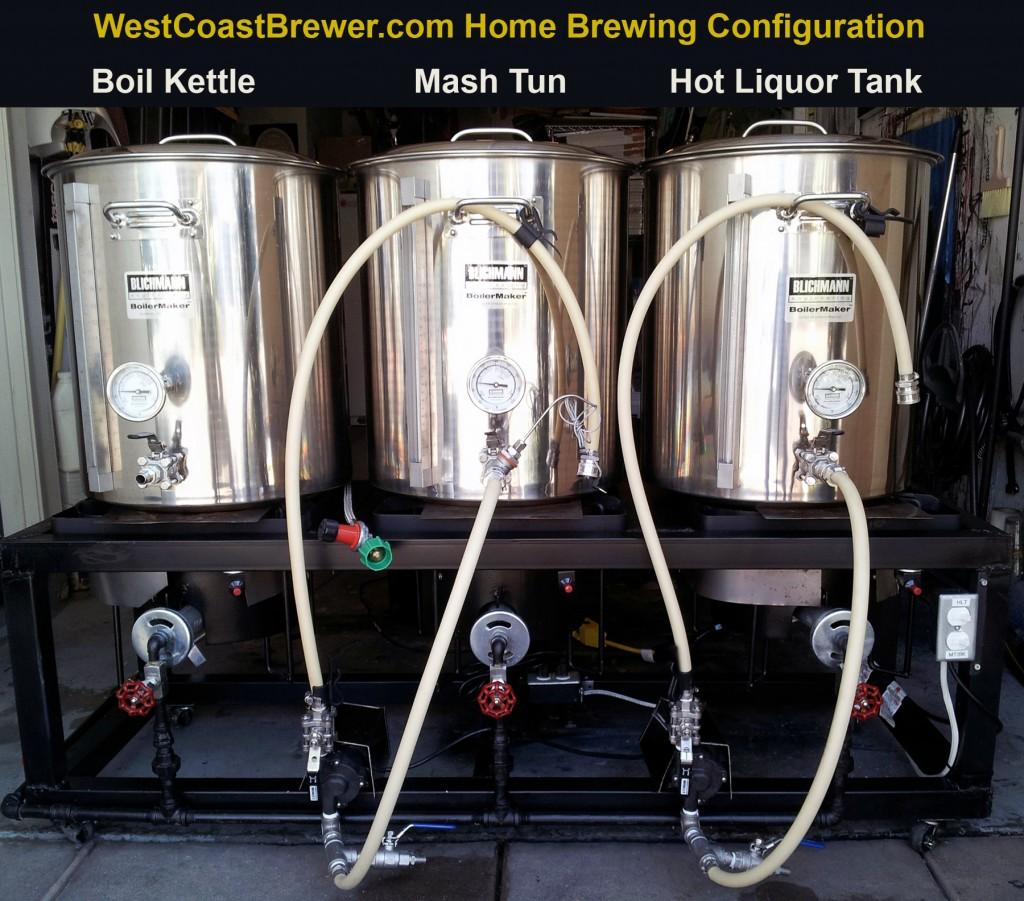 Home Brewing Hot Liquor Tank