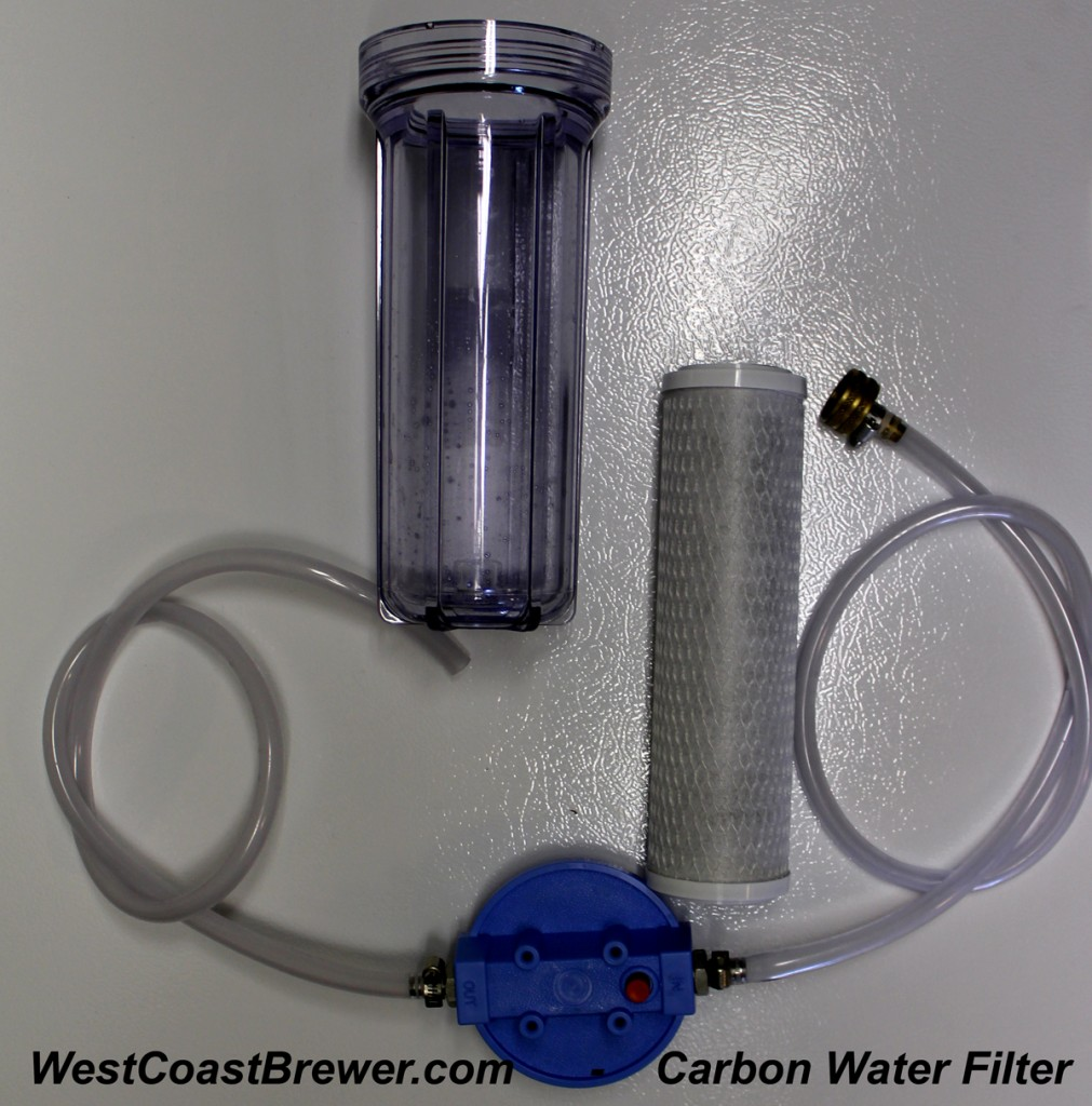 Home Brewing Carbon Water Filter