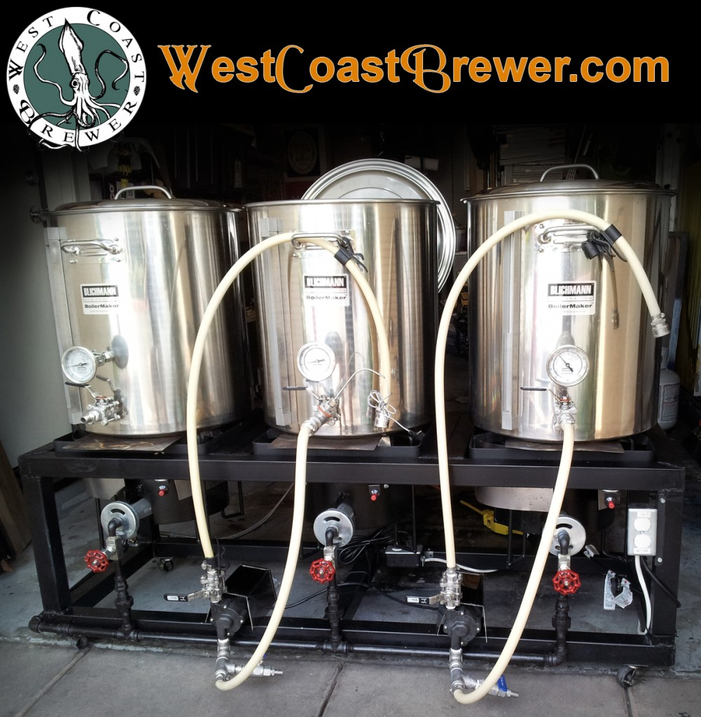 Home Brewing Stands and Home Brewery Rig Images ...