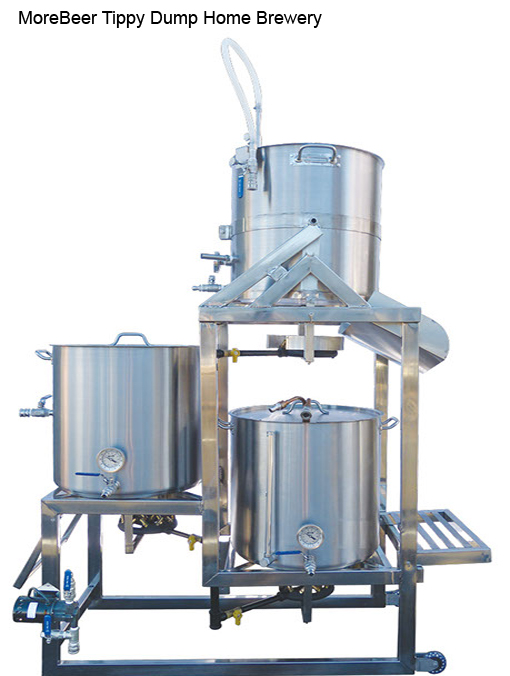 morebeer tippy dump home brewery image - Home Brewery Design