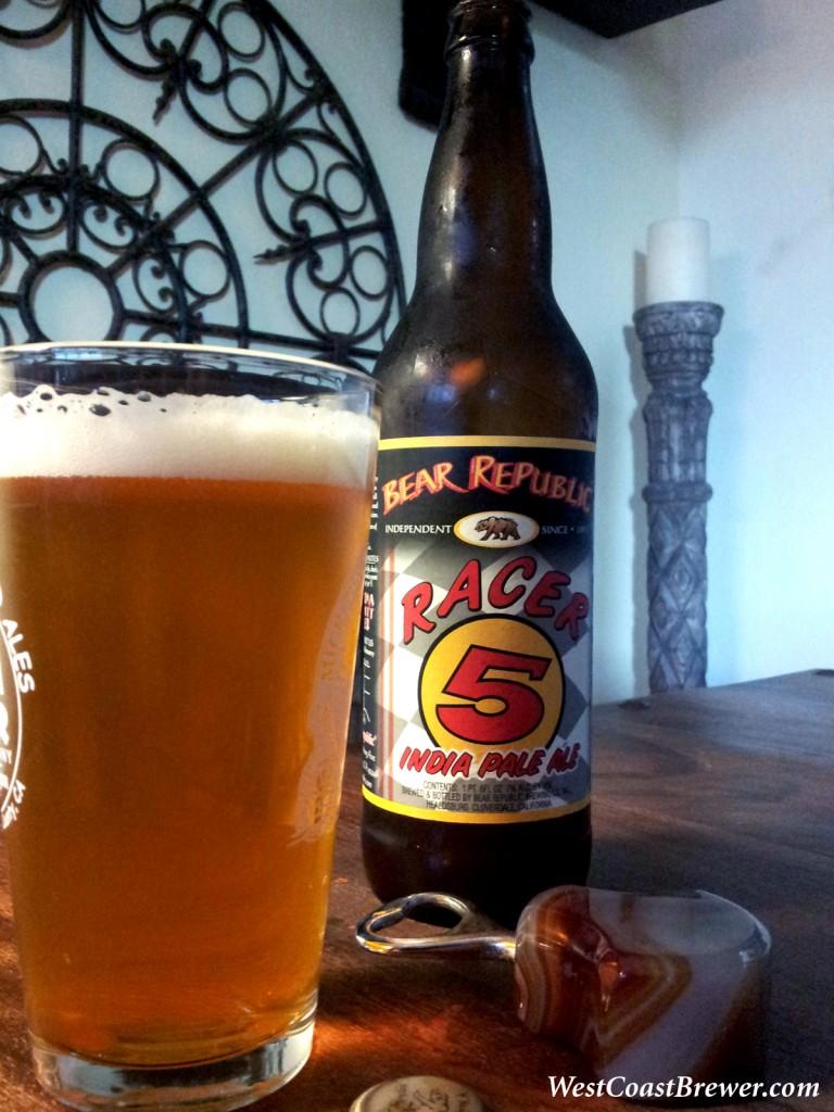 Racer 5 IPA Beer Review