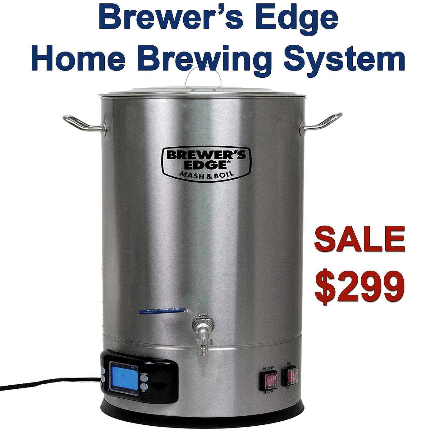 Brewers Edge Homebrewing System