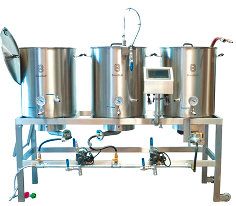 Stainless Steel Single Tier Homebrewing System